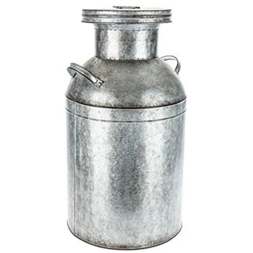 Large Galvanized Metal Milk Can Farmhouse Country Charm Decor HUGE CAN! by Generic (Image #1)