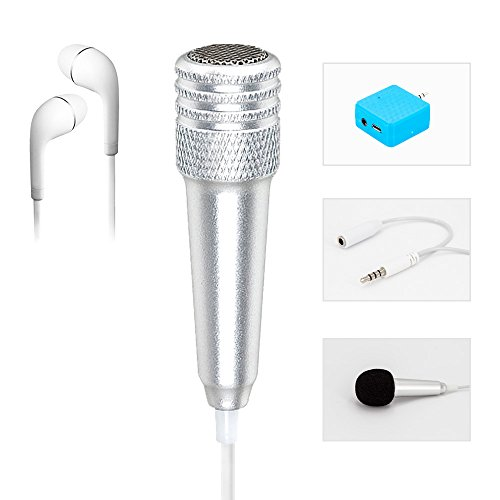 Condenser Microphone directional Recording Cellphones
