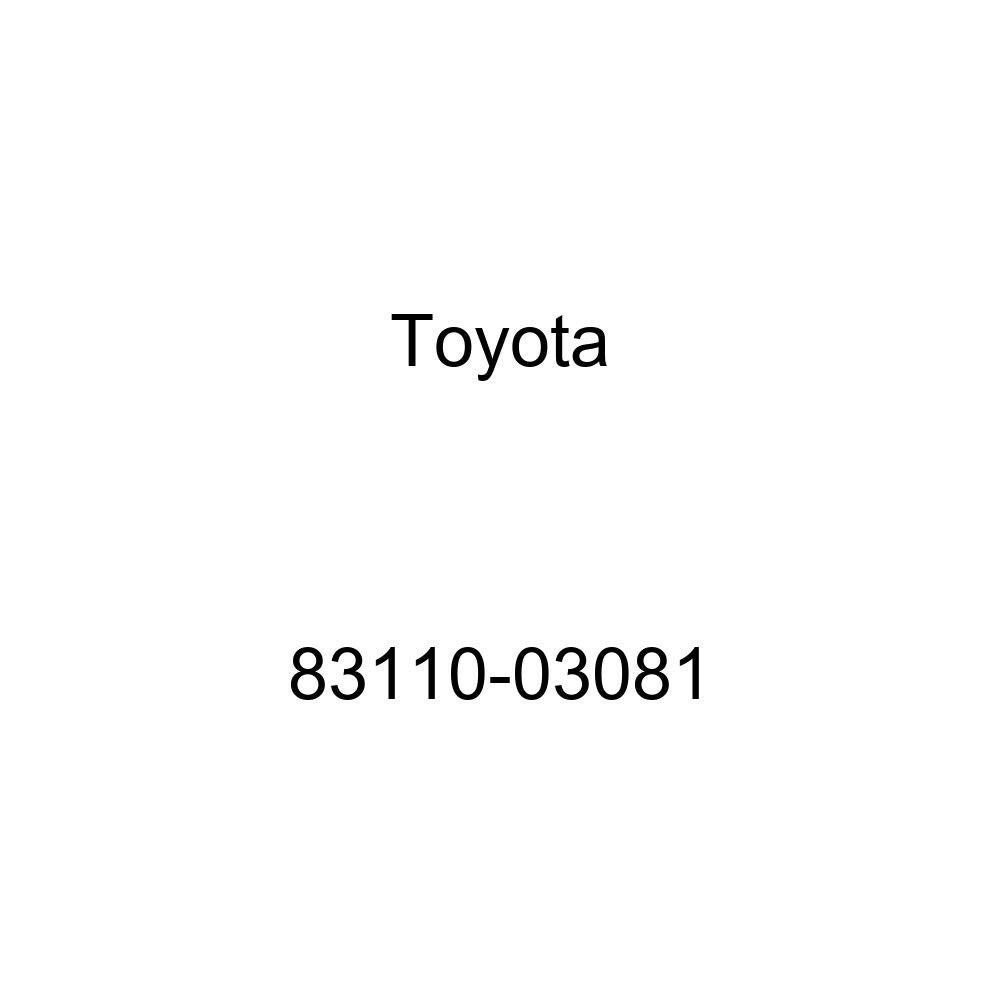 Toyota 83110-03081 Speedometer