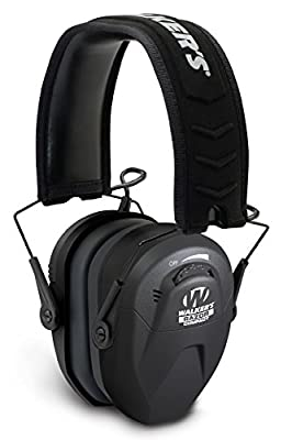 Walker's Razor Slim Compact Youth Women Electronic Hearing Protection Muff Sound Amplification Suppression. Protect It Lose It!