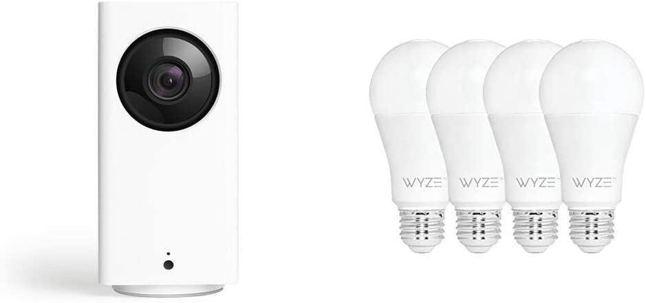 Wyze Cam Pan 1080p Pan/Tilt/Zoom Indoor Smart Home Camera