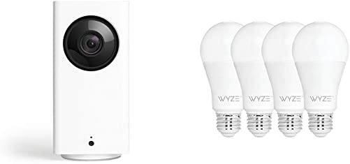 Wyze Cam Pan 1080p Pan Tilt Zoom Indoor Smart Home Camera