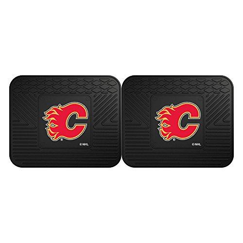 FANMATS NHL Calgary Flames Vinyl 2-Pack Utility Mats (Calgary Flames Utility Mat)