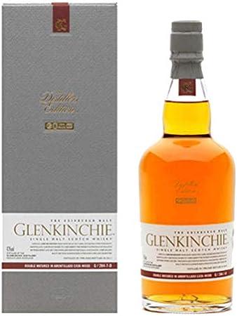 Glenkinchie Whiskey - Juego de 2 Botes de Whisky, 12 años/años, de una Sola Vez, para Whisky, escocés, Alcohol, de Alcohol, 43%, 200 ml, 605317, Regalo para el día del Padre, con Cristal Grabado