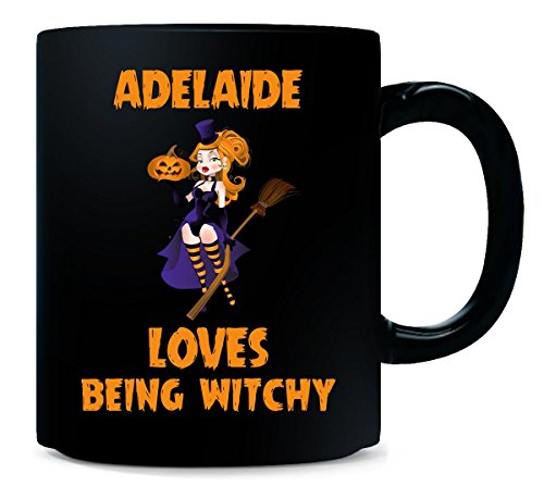 Adelaide Loves Being Witchy Halloween Gift - Mug -