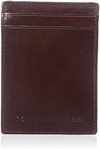 Tommy Hilfiger Men's York Slim Magnetic Front Pocket Wallet