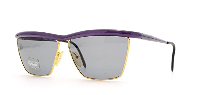 6369ef818c9c Gianfranco Ferre 32 43 Gold Purple Square Certified Vintage Sunglasses For  Womens  Amazon.co.uk  Clothing