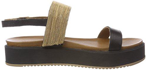 Cinturino Black Nero 8711 Inuovo Donna alla 16781933 Caviglia con Sandali xqvqS6wCP