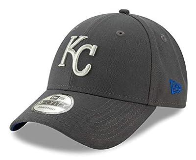 New Era Kansas City Royals 9Forty MLB The League Graphite Adjustable Hat