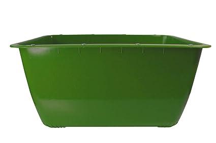 200 Liter 2 Wahl Mörtelkübel Grün Fehlfarben Mörtelwanne