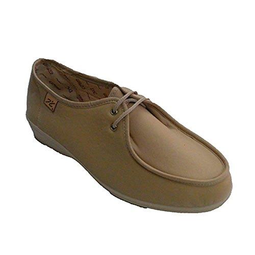 Lacets de chaussures pieds délicats Doctor Cutillas en beig