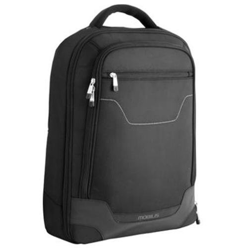Mobilis 005004 Executive Bump Rucksack für Notebooks, 35,6 - 40,6cm (14 -16Zoll), Schwarz