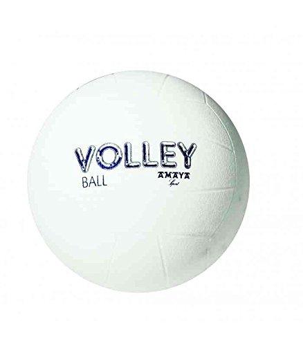 Amaya-Pelota de Voleibol PVC Diam. 210 mm, Color Blanco 700170 ...
