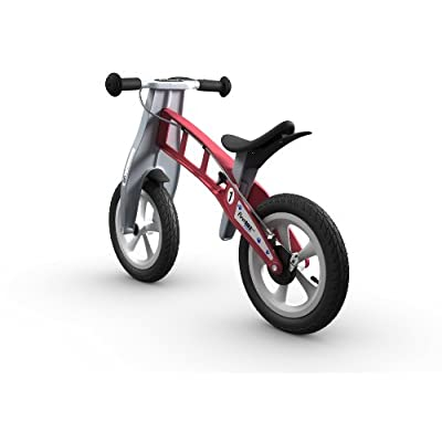 FirstBIKE Street Balance Bike with Brake, Red - for Kids & Toddlers Ages 2,3,4,5: Toys & Games