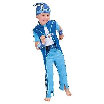 Sportacus Fancy Dress Costume Age 5-8 Years  sc 1 st  Amazon UK & Sportacus Fancy Dress Costume Age 5-8 Years: Amazon.co.uk: Toys u0026 Games