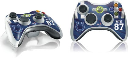 Reggie Wayne Nfl - NFL - Indianapolis Colts - Reggie Wayne -Indianapolis Colts - Skin for 1 Microsoft Xbox 360 Wireless Controller