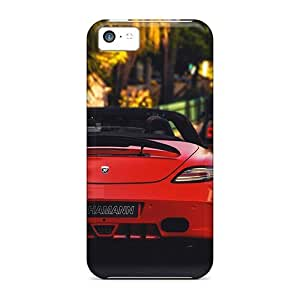 Hot FPV782JeHx Case Cover Protector For Iphone 5c- Mercedes In Monte Carlo