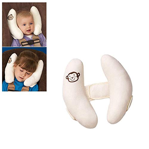 Adjustable Baby Car Seat Stroller Safety Pillow,Soft Head Neck Support, Banana U-Shape Children Travel Headrest Head Protection Pillow from DBS