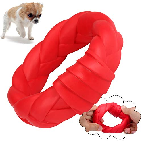 YUEJING Dog Chew Toy for Aggressive Chewers, Durable Dog Toys Tough Rubber Chew Toys, Natural Rubber Chewing Toys for…
