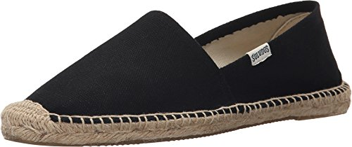 Soludos Women's Original Dalie Slipper, black, 7 B US by Soludos