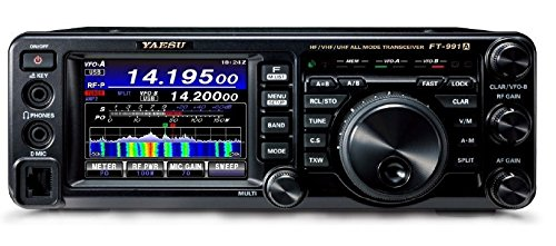 Bundle - 5 Items: Includes Yaesu FT-991A HF/VHF/UHF All-Mode Transceiver, Desk Mic, 23A Power Supply, Matching External Speaker and Ham Guides TM Quick Reference Card!! by Yaesu (Image #1)
