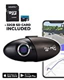 Nexar - Powered Dash Cam for Car, Cloud Storage of Video Clips, Auto Quick Start and Power Off, Sony CMOS Video Sensor, SD Card Included, G-Sensor