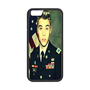 DIY Stylish Printing Justin Bieber Cover Custom Case For iPhone 6 Plus 5.5 Inch V6Q923022