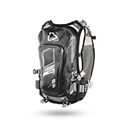 Leatt GPX 2.0 Trail WP Hydration Pack  Fully welded waterproof lightweight off-rad hydration system. The unique chest harness ensures a very solid fit making the waist strap obsolete. Features:  2.0L Flat CleanTech bladder & 5L luggage Un...