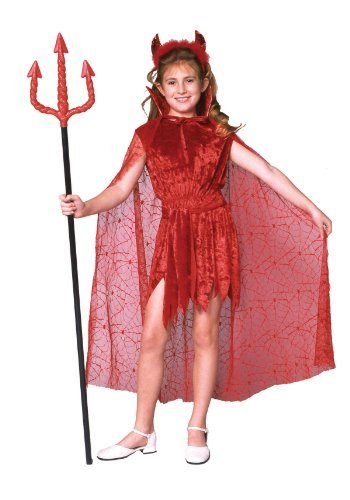 Glamour Devil With Cape -