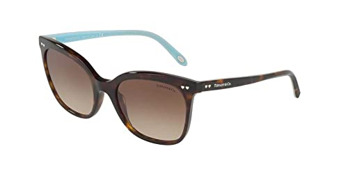 Tiffany 0TY4140 80153B, Gafas de Sol para Mujer, Marrón (Dark Havana/Browngradient), 54