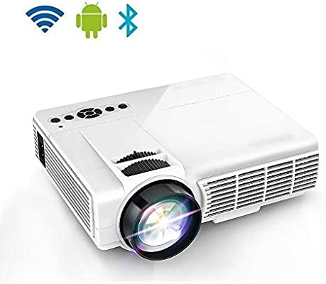Wifi Mini LED proyector de cine en casa, Full HD 1080P, mayor vida ...