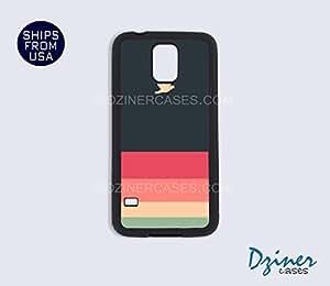Galaxy S5 Case - Sunset Stripes Pattern