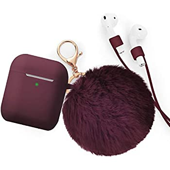 Amazon.com: Cute Airpods Case Silicone Apple AirPods