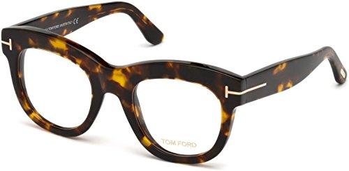 Tom Ford FT5493 Eyeglasses w/Demo Clear Lens (Dark - Cost Ford Tom