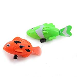 Dazzling Toys Wind Up Swimming Fish Pack Of