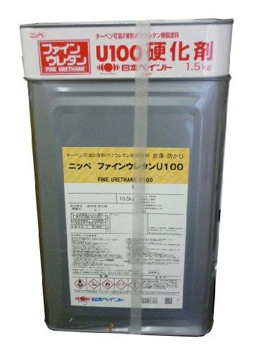 日本ペイント ファインウレタンU100半艶 ND-218 15kgセット B0035CP9BA 15kgセット|ND-218