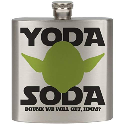 Some Yoda Soda: 6oz Stainless Steel Flask -