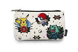 Pokemon Flash Tattoo Starters Pencil Bag