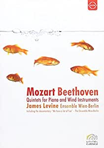 James Levine/Ensemble Wien-Berlin: Mozart/Beethoven - Quintets for Piano and Wind Instruments