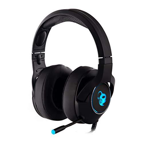 🥇 CoolBox DeepChroma – Auriculares gaming con micrófono retráctil