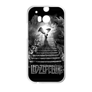 Led Zeppelin Stairway To Heaven HTC One M8 Cell Phone Case White toy pxf005_5905818