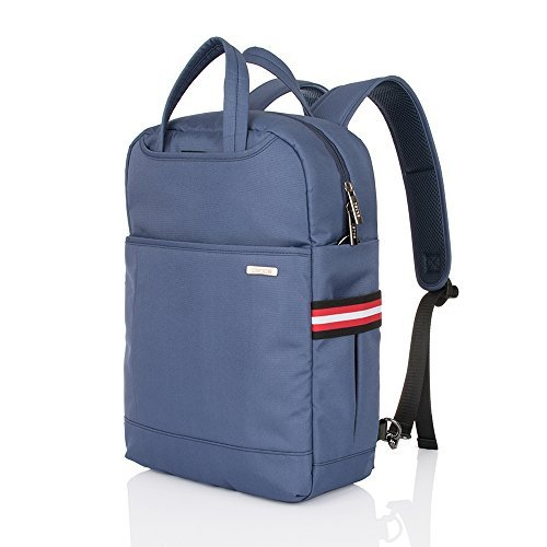 Laptop Backpack,Nylon Computer Bag,Travel Shoulder Bag,Carry Bag,Fits Under 15.6-Inch Laptop Notebook(Blue)