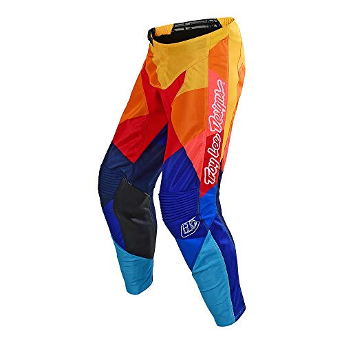 Troy Lee Designs Off Road Motocross Gp Air Pants Jet (Navy/Orange, 34) ()