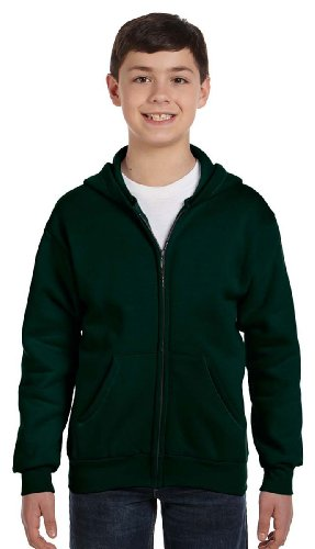 Hanes P480 Youth ComfortBlend 50/50 Full, Classic,Deep Forest,Large by Hanes