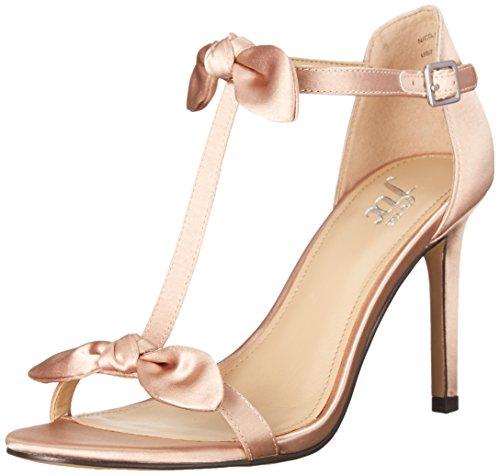The Fix Womens Nicolette Double Bow T-Strap Sandal
