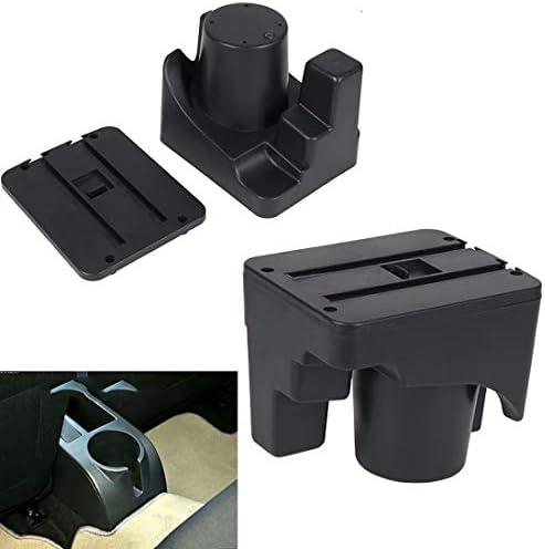 Reposabrazos Caja Consolas Almacenamiento con portavasos Cenicero Apoyabrazos para Golf 6 Mk6 2008-2013 Jetta Mk5 2006-2011 Vento Wagon 2009 2010: Amazon.es: Coche y moto