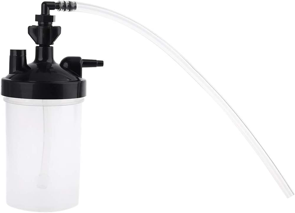 """DDARK Humidifier Water Bottle and Tubing Connector Elbow 12"""" for Oxygen Concentrator Oxygen Generator"""