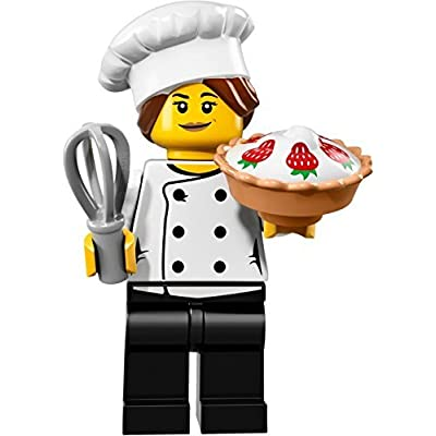 LEGO Collectible Minifigure Series 17 - Gourmet Chef (71018): Toys & Games