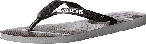 Havaianas Mens Sprøyte Sandal Flip-flop Stål Grå / Sort