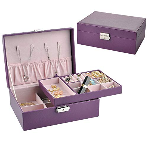 NirongLavie Jewelry Box Women Jewellery Storage Case